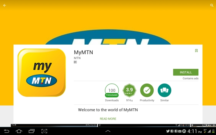 Download MYMTN App For All Phones (Android,Java,Symbian etc